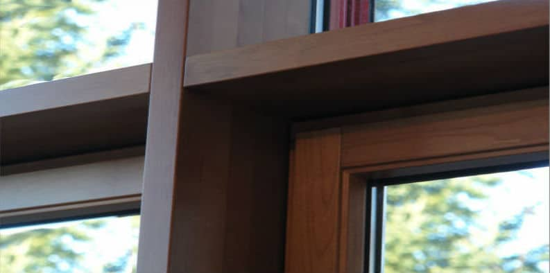 Unithem Timber Curtain Window Walls Uniform